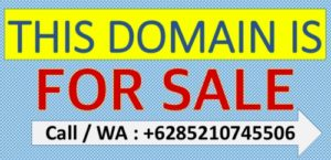 this domain for sale ; domain ini dijual
